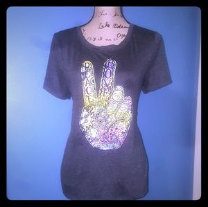 Graphic Peace T-shirt
